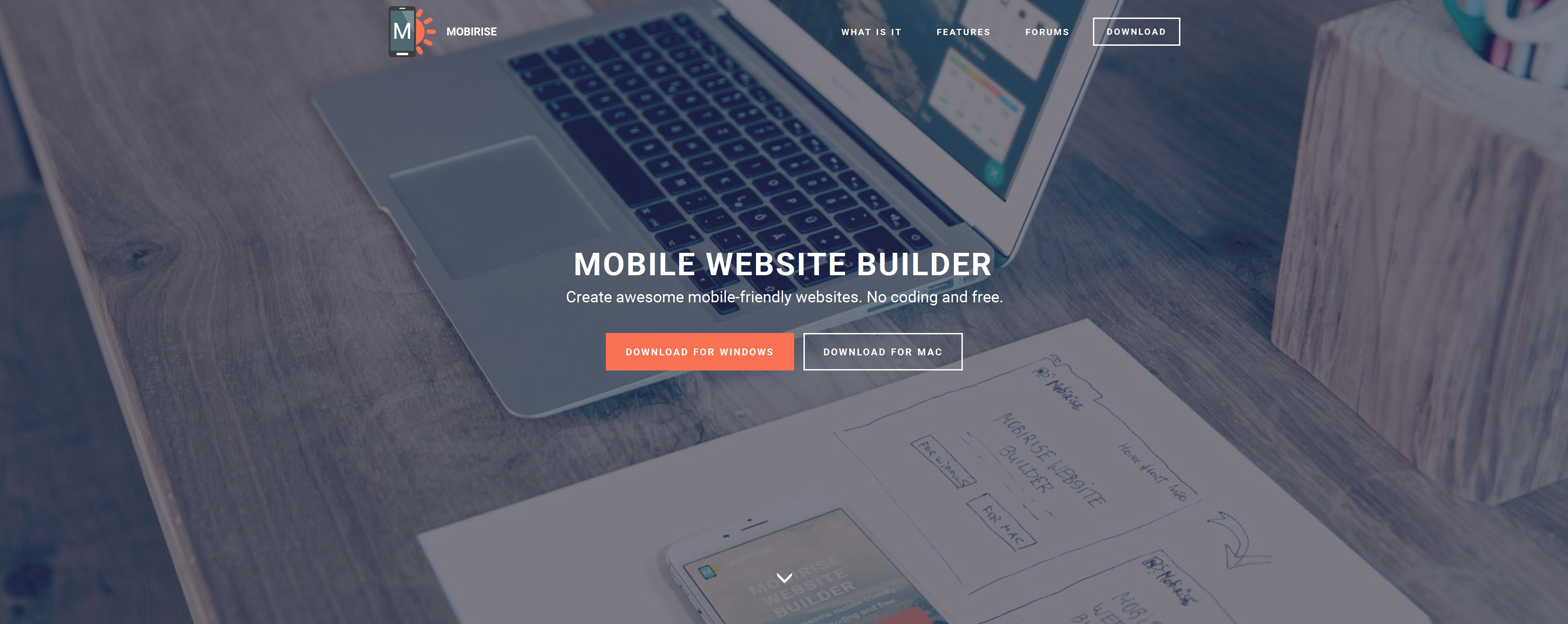Bootstrap Mobile Website Builder Software