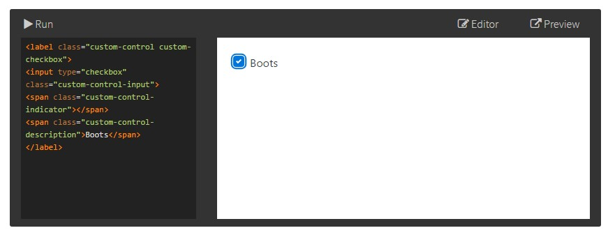 Bootstrap Checkbox Position