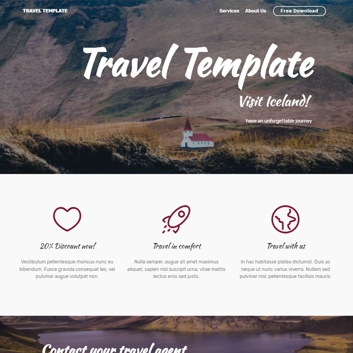 free photo templates download