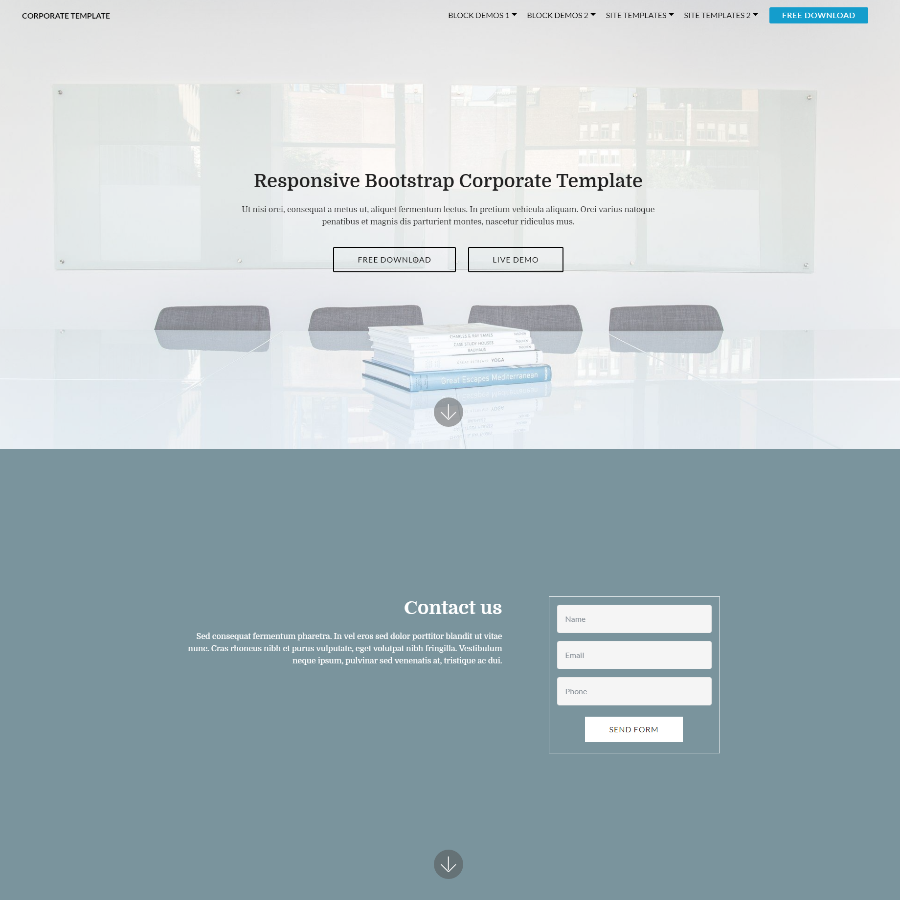 35+ Beautiful Free Bootstrap Templates 2018