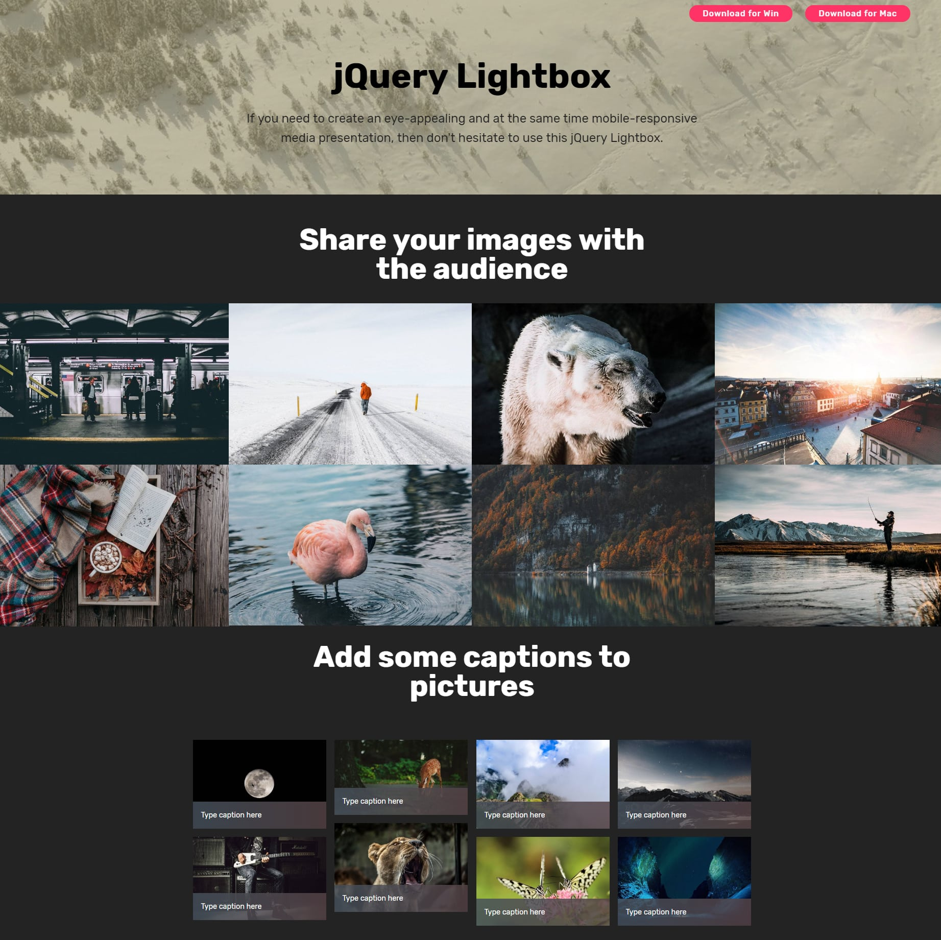 HTML5 Bootstrap Image Gallery