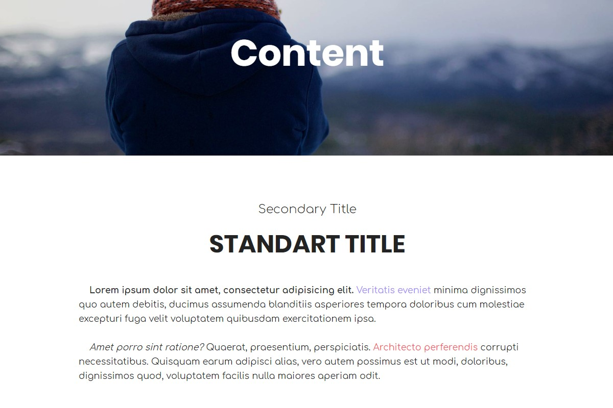 HTML Source Templates