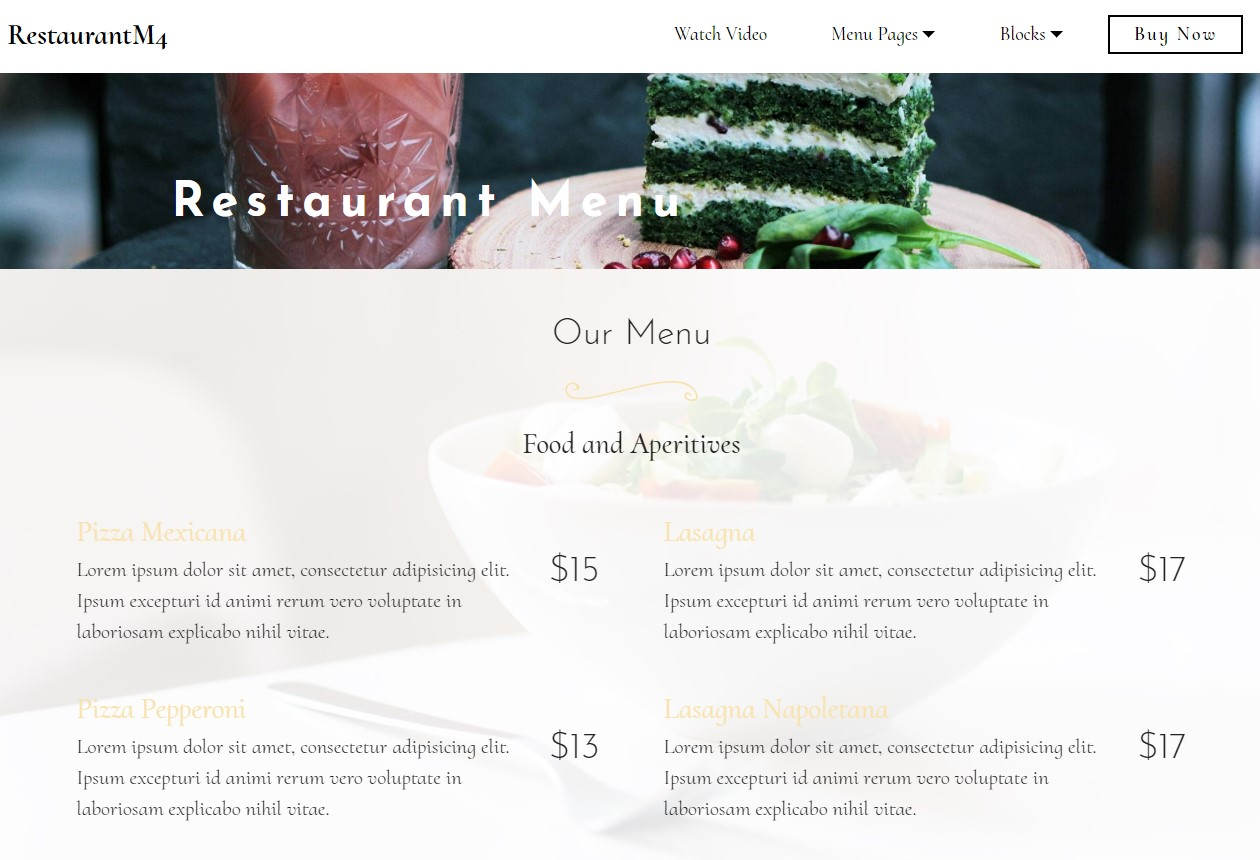 HTML Page Templates