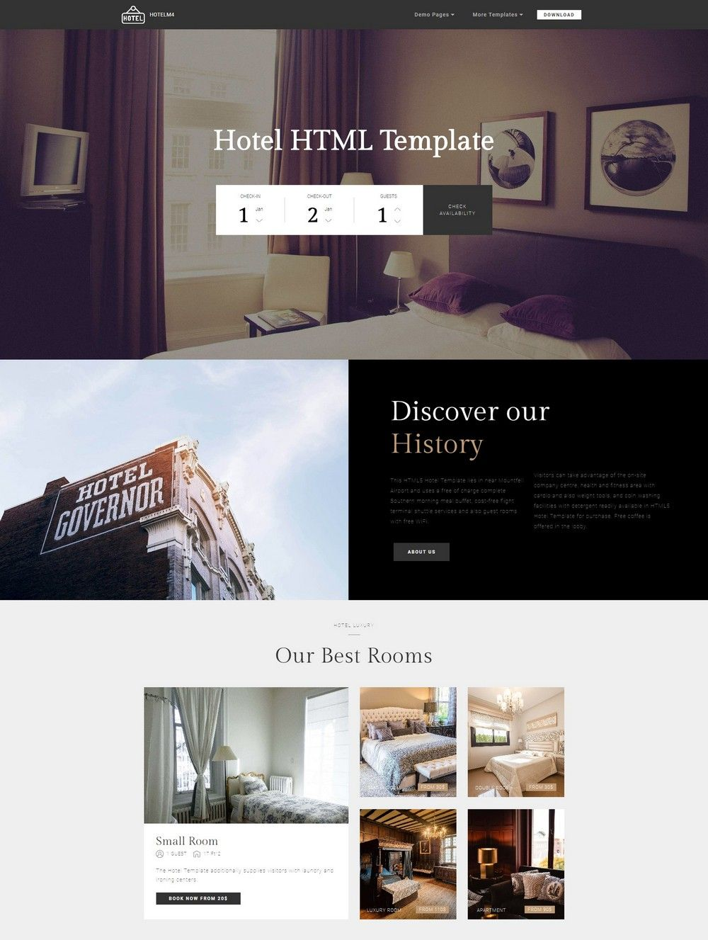 35 Beautiful Free Bootstrap Templates 2018