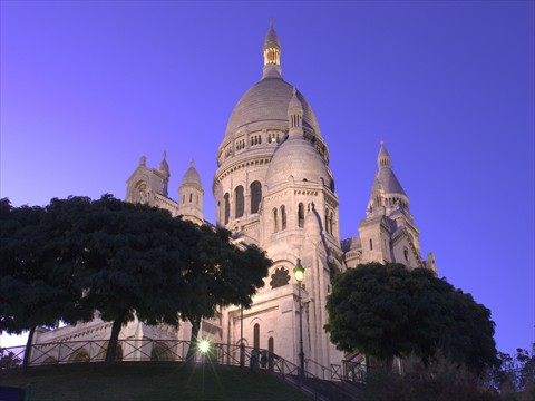 Basilica of the Sacred Heart - <br/>Paris, France
