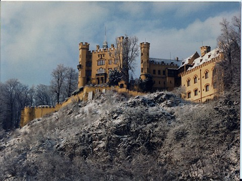 Hohenschwangau castle -<br/>Germany