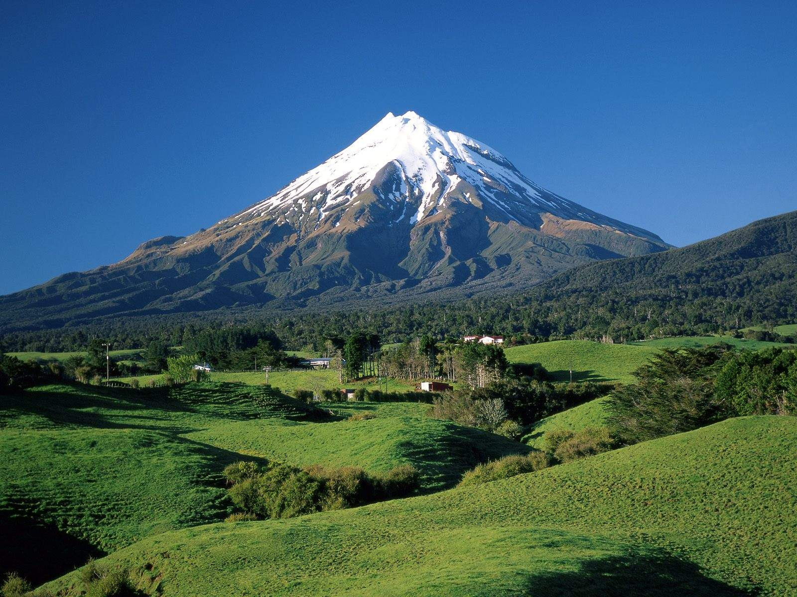Taranaki mountain - New Zeland